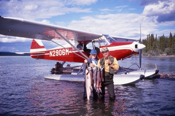 GEORGE and JENNIFER_HOLZ_HONEYMOON_ALASKA_1994