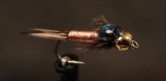 copper john fly tying video