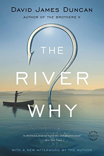 """The cover of """"The River Why"""""""
