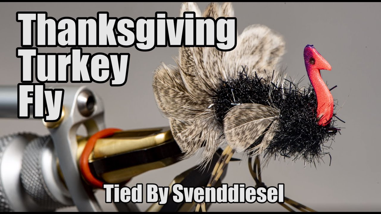 How to Tie: Svend's Turkey Fly - Flylords Mag