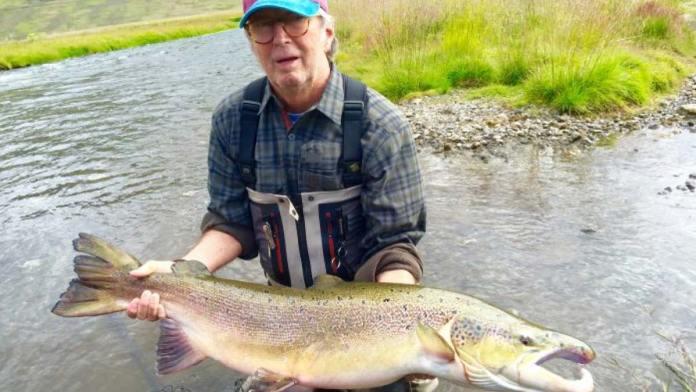 Eric Clapton Iceland Atlantic Salmon