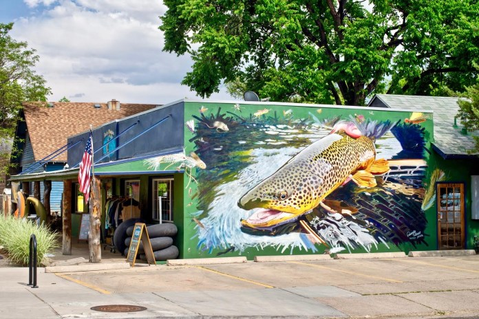 Rem Robinson Mural Finished - Rocky Mountain Anglers