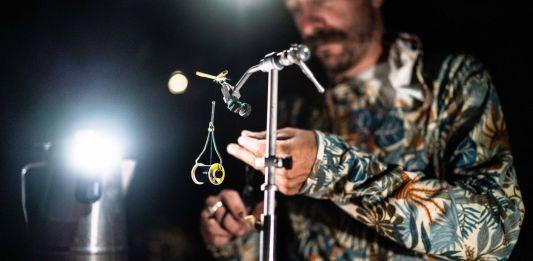 tying flies in the dark