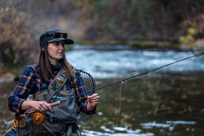 fishing the pan