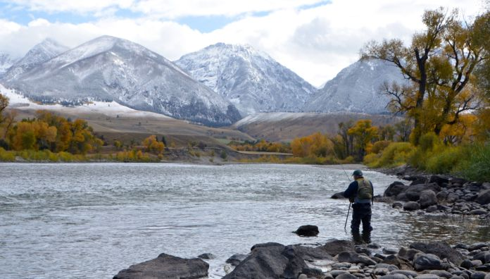 fly fishing in paradise valley MT