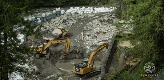 Nooksack Dam Removal Timelapse Swiftwater Films