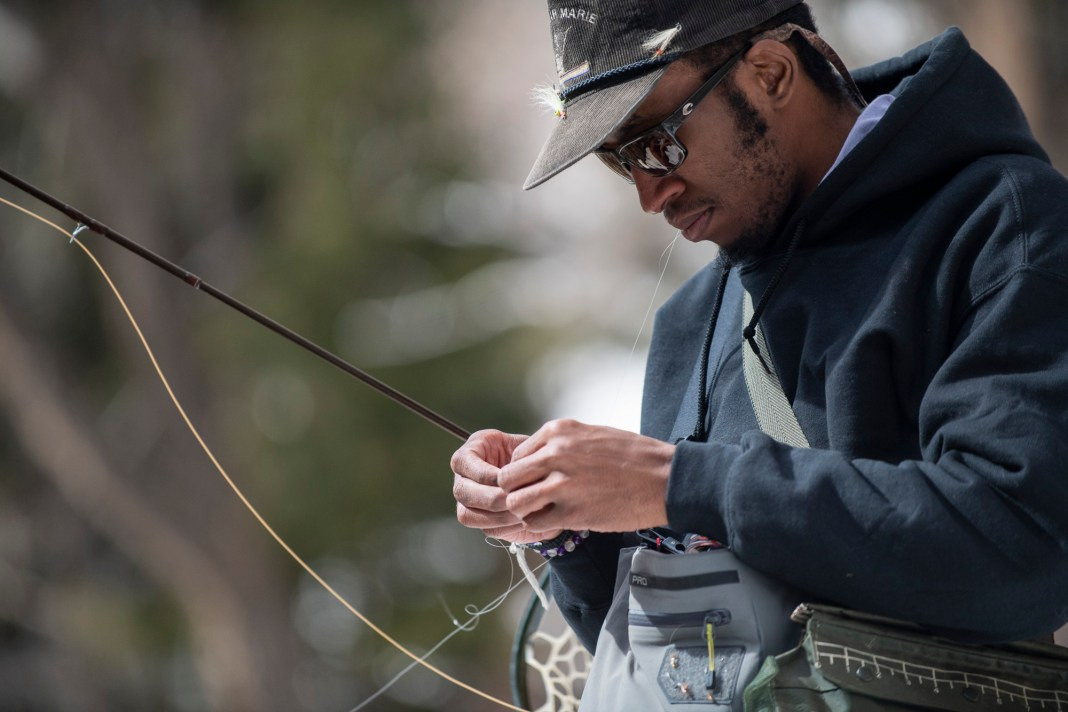 Eeland Stribling has been a part of Trout Unlimited's 5 Rivers college program since he was in college at Colorado State University.