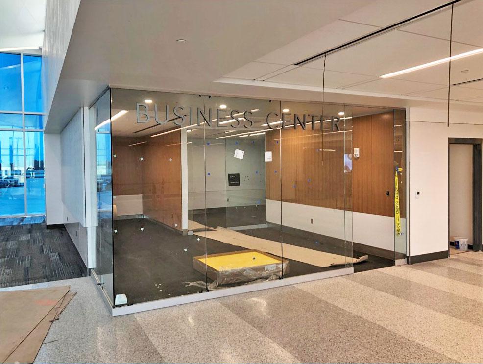 April 2021 Concourse Modernization - Business Center