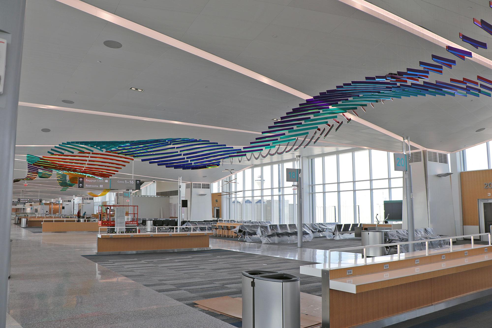July 2021 Concourse Modernization