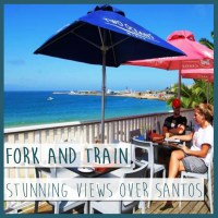 Mossel Bay Restaurant fork and train
