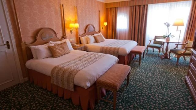 Disneyland Hotel Castle Club Room