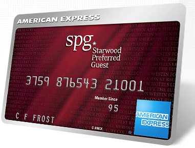 35,000 Points for the American Express Starwood Preferred Guest Card!