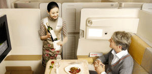 Asiana's first class suite