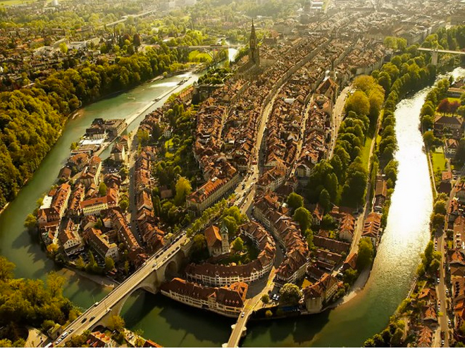A View From Above – Seeing Famous Places From Above