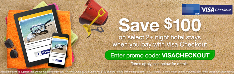 HOT! $100 Off $100 at Orbitz Again!