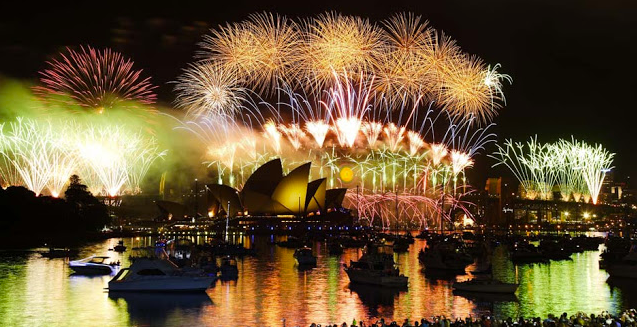 New Years Eve in Sydney, Australia