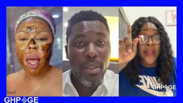 VIDEO: Afia Schwar is bipolar – A Plus snitches on her to Mona Gucci