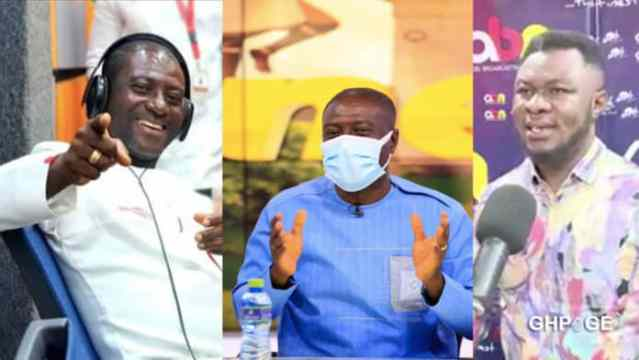 ViDEO : Captain Smart accuses Dr Kwaku Oteng's brother of sleeping with married woman at Angel FM premises