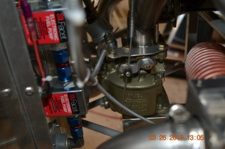 MA3- SPA carb and fuel pumps