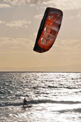 Flysurfer Unity in the Sunset