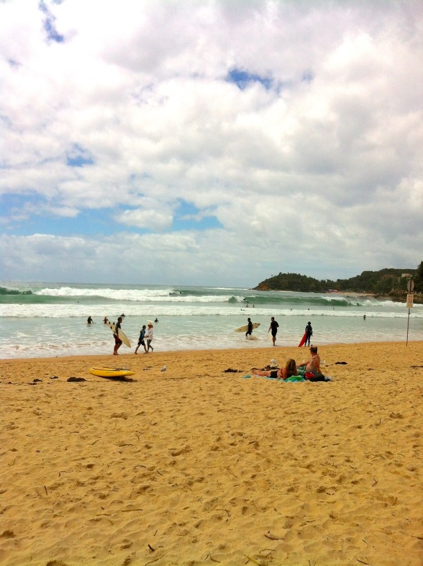 Cloudy Manly