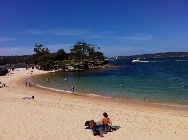 Balmoral beach. What a sky!