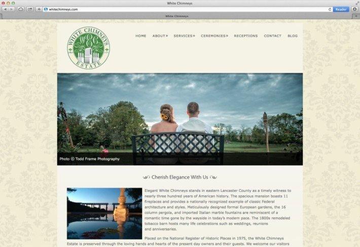 White Chimneys Website