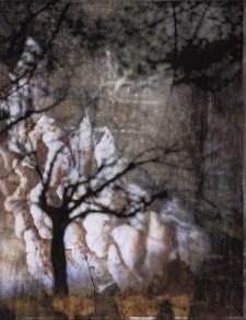 "Michelle Saffran's art, ""One Deep Roar"""
