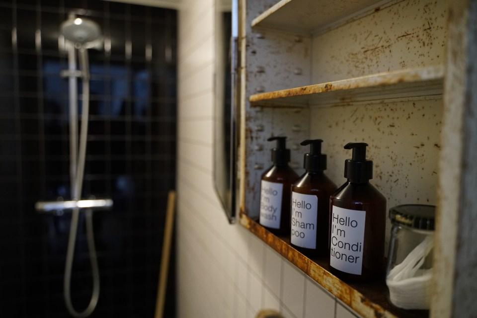 Badkamer en zeep