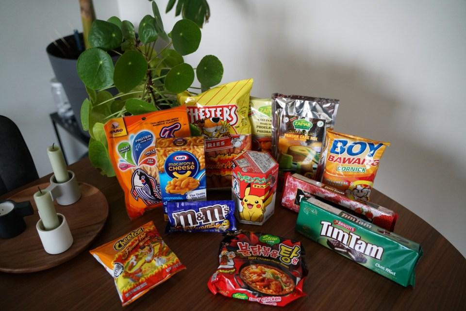 Overview Earthbear snacks