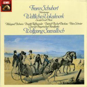 DE EMI SLS5220 サヴァリッシュ シューベルト・世俗的合唱作品集