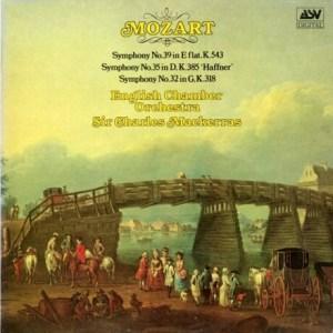 GB ASV DCA543 マッケラス モーツァルト・交響曲39,35,32番