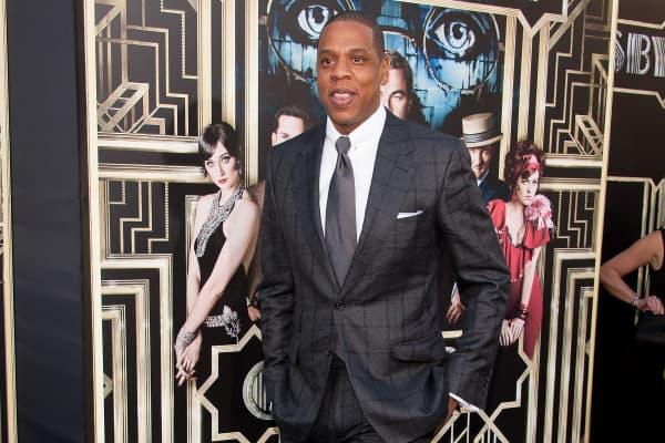 Jay-Z attends