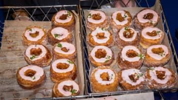 Cronuts help celebrate National Doughnut Day.