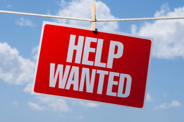 Image result for Help wanted sign