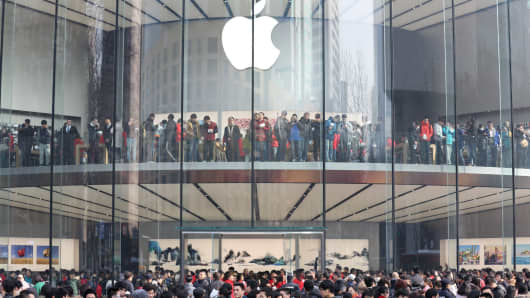 Image result for apple store in China, photos
