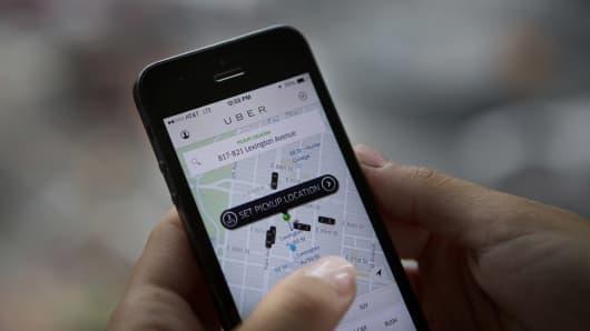 Uber Technologies app