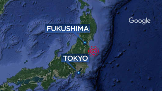 Image result for 6.9-magnitude earthquake strikes off Japan