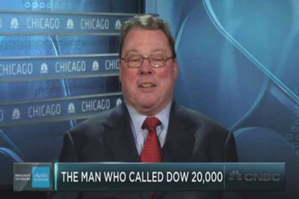 The man who called for Dow 20,000