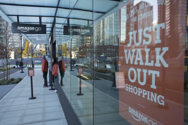 Amazon Go grocery store in Seattle, Washington