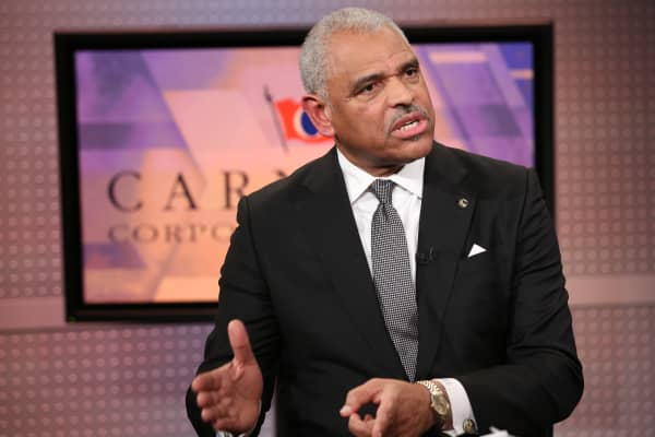 Arnold W. Donald, CEO of Carnival Corporation featured on Mad Money with Jim Cramer on January 27, 2017.