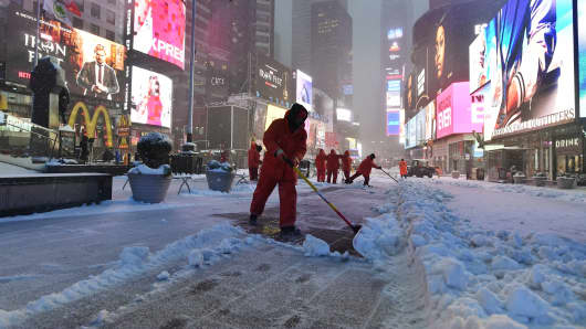 Image result for Images of Northeast snowstorm on March 14, 2017