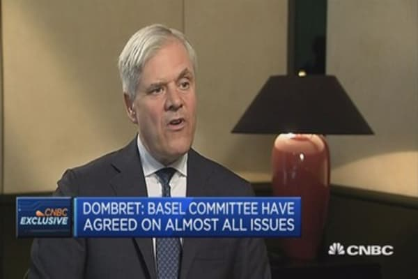 Hope we will finalize Basel III this year: Bundesbank's Dombret