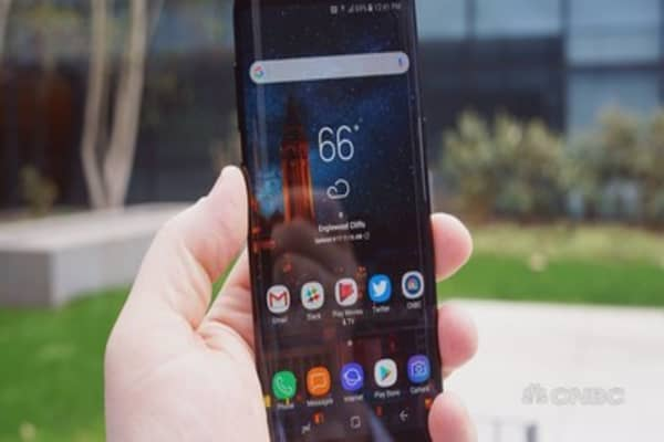The Samsung Galaxy S8 is here and it's beautiful