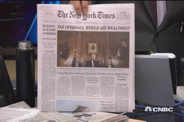 Massive tax cut unlikely to happen: Cramer