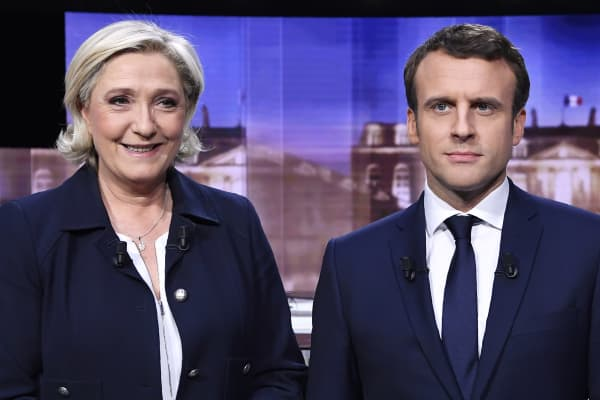 Image result for Macron wins French presidency