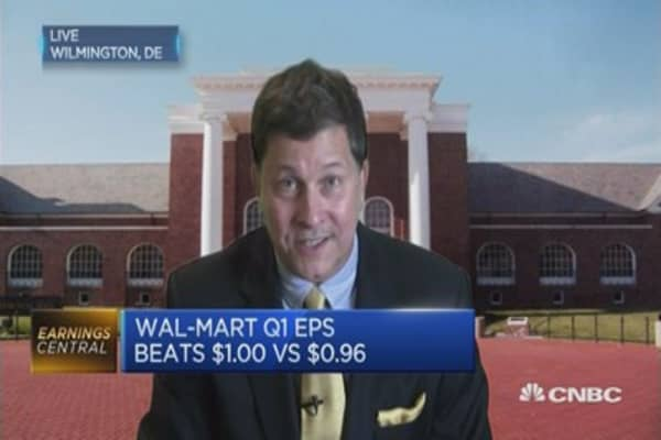 Buy Wal-Mart on sale?