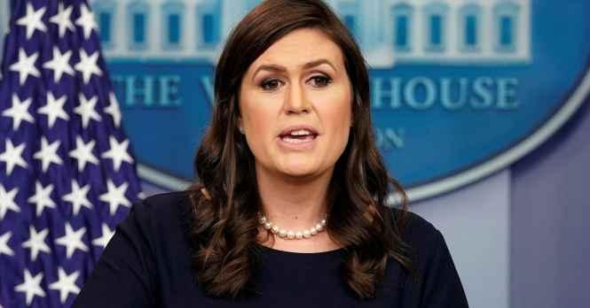 Image result for Sarah+Sanders