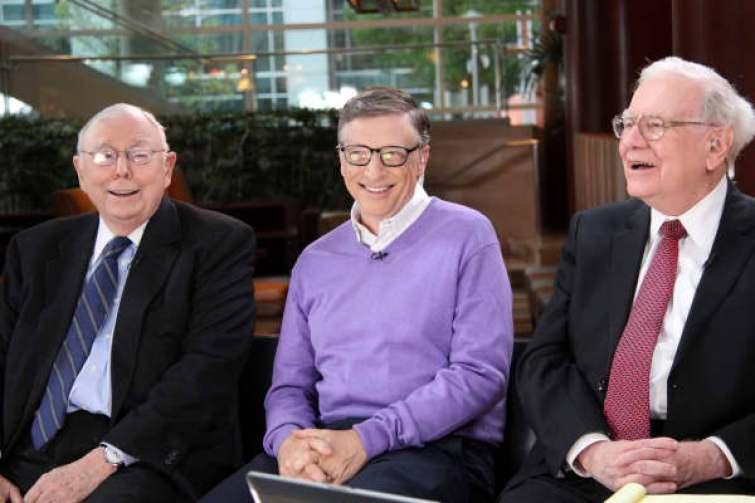 Charlie Munger, Bill Gates y Warren Buffett