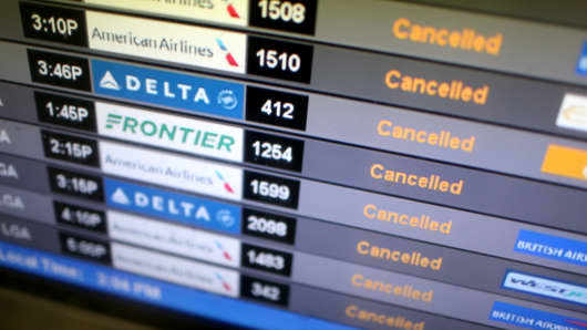 Hurricane Florence  Airlines cancel over 1 000 flights and cap fares Airlines cancel flights ahead of Hurricane Irma